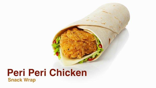 New Peri Peri Chicken Classic Chicken Snack Wraps In Mcdonalds Uk Bmg Online Space